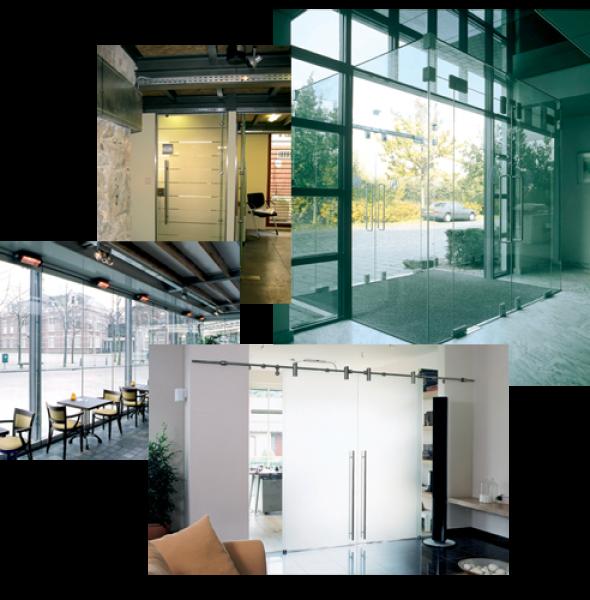 L p e vitrage vitrerie habitat abbeville porte - Porte coulissante verre transparent ...
