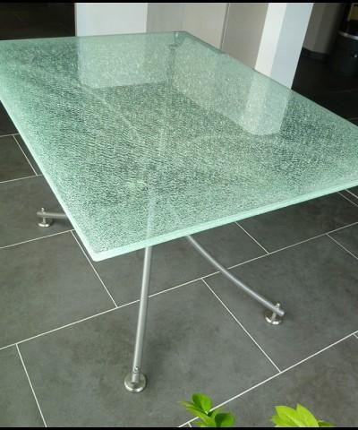 L p e vitrage vitrerie habitat abbeville verres au d tail - Recouvrir une table en verre ...